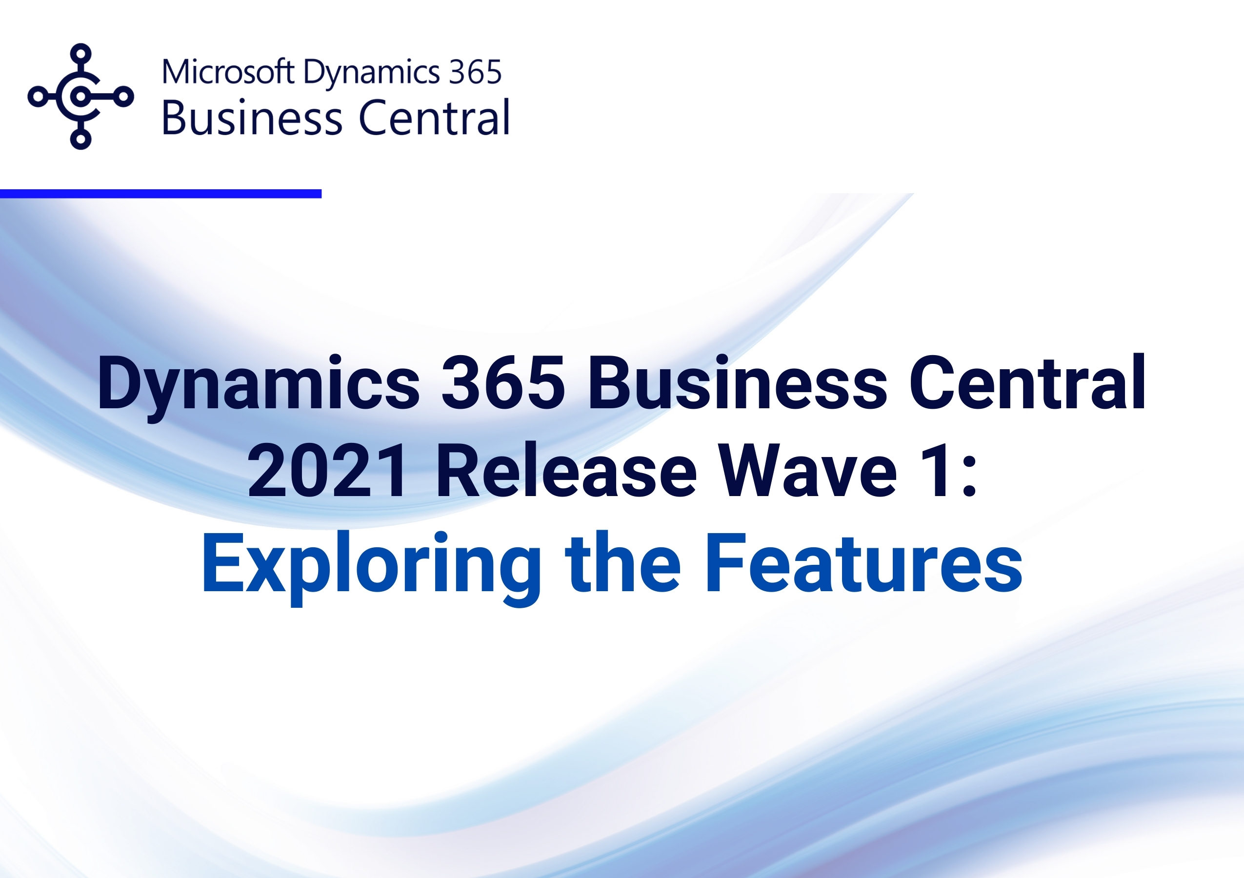 Business Central Release Wave 1