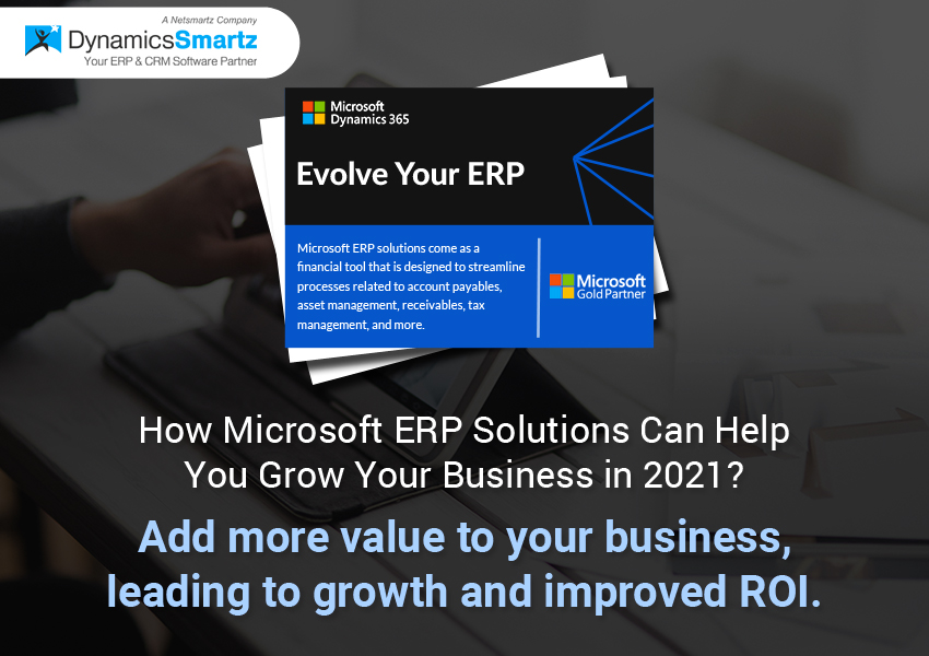 Business growth ERP solutions