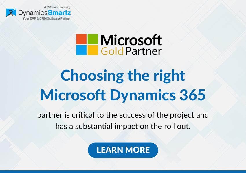 Microsoft Dynamics365 Partner