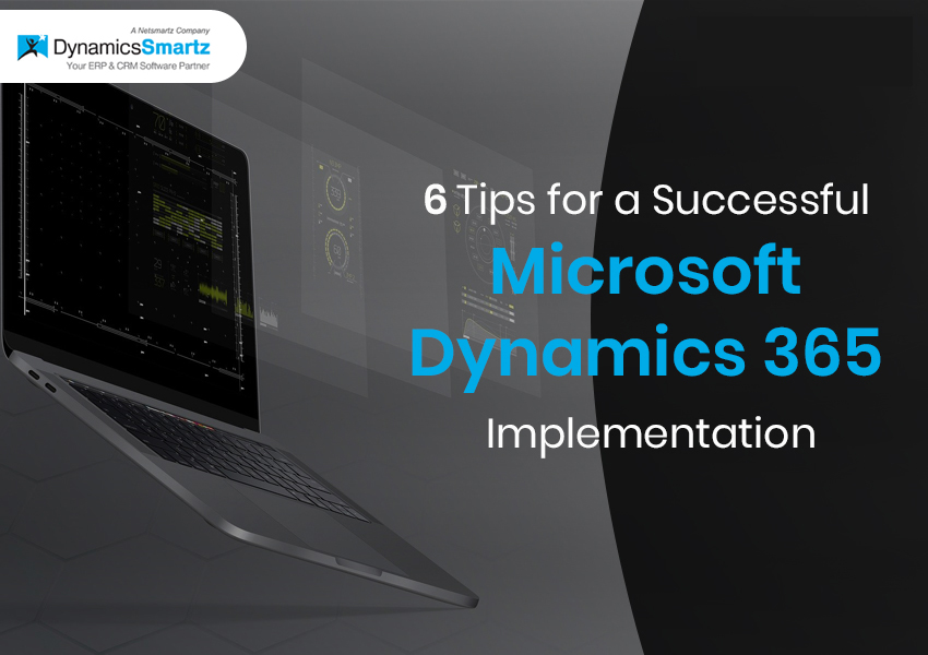 Dynamics 365 implementation