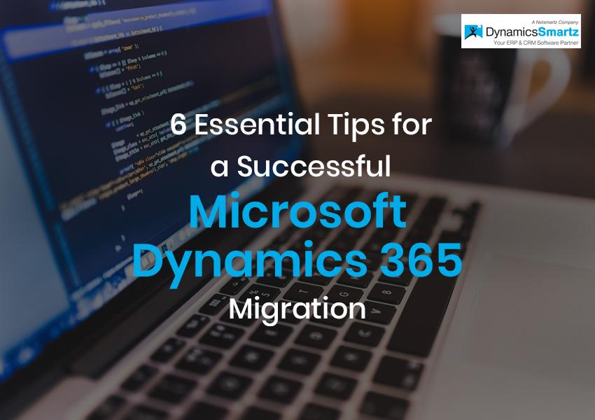 Dynamics 365 Migration