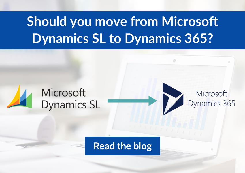 Dynamics SL to Dynamics 365