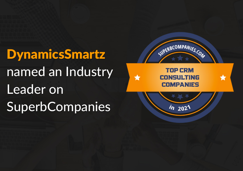 DynamicsSmartz listed as Top CRM Consulting Company 2021